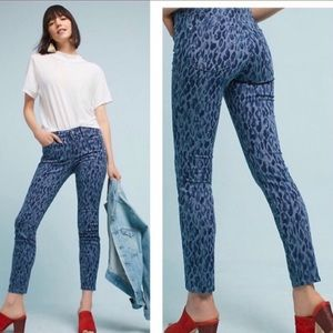 Anthro- Pilcro and the Letterpress Leopard Jeans